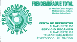 Freno Embrague Total - La Web de Paraná