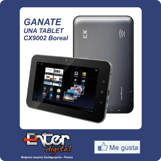 Enter Digital te regala una tablet.